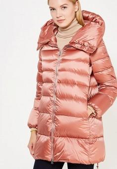 Пуховик, Add, цвет: коралловый. Артикул: AD504EWTCZ54. Женская одежда / Верхняя одежда / Пуховики и зимние куртки