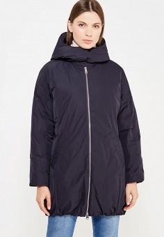 Пуховик, Add, цвет: синий. Артикул: AD504EWTCZ73. Женская одежда / Верхняя одежда / Пуховики и зимние куртки