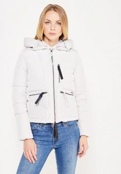 Пуховик, Armani Jeans, цвет: белый. Артикул: AR411EWTYA55. Премиум / Одежда / Верхняя одежда / Пуховики и зимние куртки