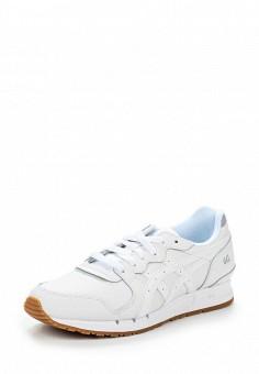 Кроссовки, ASICSTiger, цвет: белый. Артикул: AS009AWUMI11. Женская обувь / Кроссовки и кеды