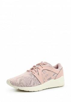 Кроссовки, ASICSTiger, цвет: розовый. Артикул: AS009AWUMI13. Женская обувь / Кроссовки и кеды