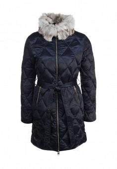 Пуховик, Baon, цвет: синий. Артикул: BA007EWFYE56. Женская одежда / Верхняя одежда / Пуховики и зимние куртки