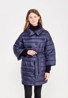 Пуховик, Baon, цвет: синий. Артикул: BA007EWWAR18. Женская одежда / Верхняя одежда / Пуховики и зимние куртки