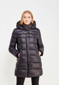 Пуховик, Baon, цвет: черный. Артикул: BA007EWWAR29. Женская одежда / Верхняя одежда / Пуховики и зимние куртки