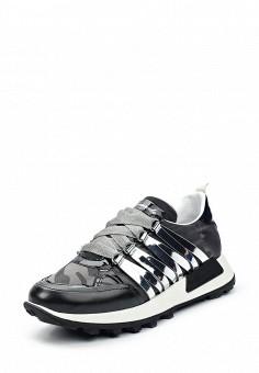 Кроссовки, Barracuda, цвет: черный. Артикул: BA056AWUSC65. Женская обувь / Кроссовки и кеды
