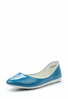 Балетки, Betsy, цвет: голубой. Артикул: BE006AWQBU98. Женская обувь