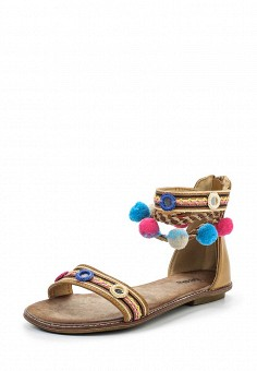 Сандалии, Betsy, цвет: коричневый. Артикул: BE006AWQCC86. Женская обувь