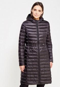 Пуховик, Befree, цвет: черный. Артикул: BE031EWUXW96. Женская одежда / Верхняя одежда / Пуховики и зимние куртки / Длинные пуховики и куртки