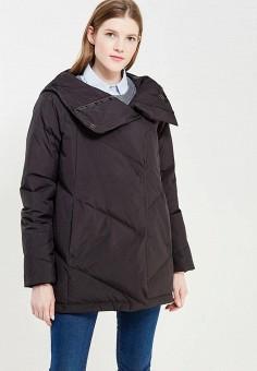 Пуховик, Befree, цвет: черный. Артикул: BE031EWYME55. Женская одежда / Верхняя одежда / Пуховики и зимние куртки