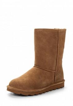 Полусапоги, Bearpaw, цвет: коричневый. Артикул: BE223AWYBR43. Женская обувь / Сапоги