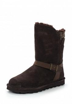 Полусапоги, Bearpaw, цвет: коричневый. Артикул: BE223AWYBR59. Женская обувь / Сапоги