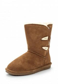 Полусапоги, Bearpaw, цвет: коричневый. Артикул: BE223AWYBR71. Женская обувь / Сапоги