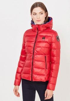 Пуховик, Blauer, цвет: красный. Артикул: BL654EWVFB68. Премиум / Одежда / Верхняя одежда / Пуховики и зимние куртки