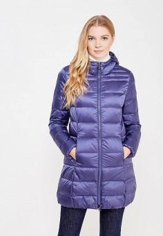 Пуховик, Bosideng, цвет: синий, фиолетовый. Артикул: BO026EWVBC32. Премиум / Одежда / Верхняя одежда / Пуховики и зимние куртки
