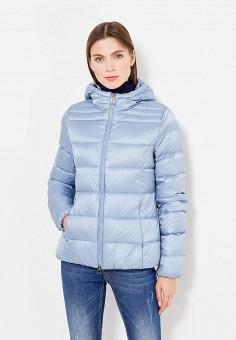 Пуховик, Bosideng, цвет: голубой. Артикул: BO026EWVBC39. Премиум / Одежда / Верхняя одежда / Пуховики и зимние куртки