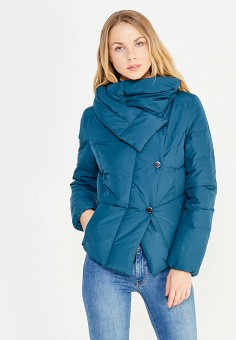 Пуховик, Bosideng, цвет: зеленый. Артикул: BO026EWVBC51. Женская одежда / Верхняя одежда / Пуховики и зимние куртки