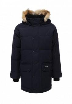 Пуховик, Canada Goose, цвет: синий. Артикул: CA997EMVBM30. Мужская одежда / Верхняя одежда