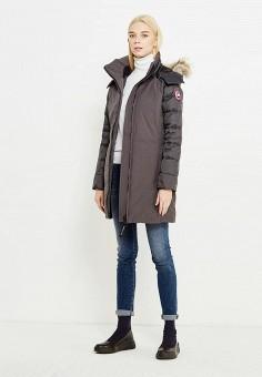 Пуховик, Canada Goose, цвет: серый. Артикул: CA997EWVBM65. Премиум / Одежда / Верхняя одежда / Пуховики и зимние куртки