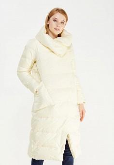 Пуховик, Defreeze, цвет: бежевый. Артикул: DE032EWWKF57. Женская одежда / Верхняя одежда / Пуховики и зимние куртки