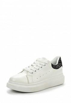 Кроссовки, Fashion & Bella, цвет: белый. Артикул: FA034AWPSH26. Женская обувь / Кроссовки и кеды