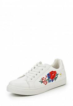 Кеды, Fashion & Bella, цвет: белый. Артикул: FA034AWQTI85. Женская обувь / Кроссовки и кеды
