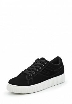 Кеды, Fashion & Bella, цвет: черный. Артикул: FA034AWVEV58. Женская обувь / Кроссовки и кеды