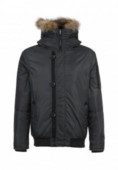 Куртка утепленная, Forward, цвет: серый. Артикул: FO007EMLD682. Мужская одежда / Верхняя одежда / Пуховики и зимние куртки