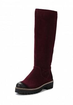 Сапоги, Francesco Donni, цвет: бордовый. Артикул: FR034AWWTF31. Женская обувь / Сапоги