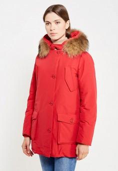 Пуховик, Freedomday, цвет: красный. Артикул: FR042EWVHP37. Премиум / Одежда / Верхняя одежда / Пуховики и зимние куртки