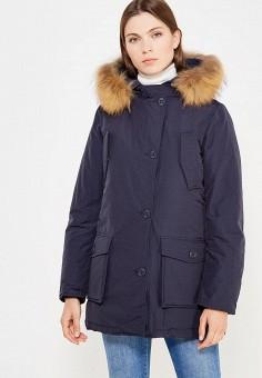 Пуховик, Freedomday, цвет: синий. Артикул: FR042EWVHP39. Премиум / Одежда / Верхняя одежда / Пуховики и зимние куртки
