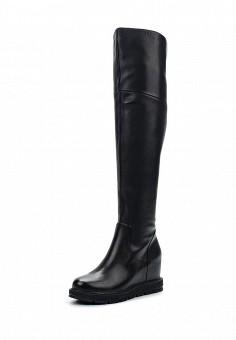Ботфорты, Grand Style, цвет: черный. Артикул: GR025AWWOK45. Женская обувь / Сапоги