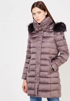 Пуховик, Hetrego, цвет: серый. Артикул: HE832EWVIV33. Премиум / Одежда / Верхняя одежда / Пуховики и зимние куртки