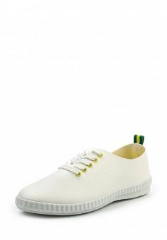 Кеды, Ideal Shoes, цвет: белый. Артикул: ID005AWRWQ50. Женская обувь / Кроссовки и кеды