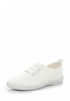 Кеды, Ideal Shoes, цвет: белый. Артикул: ID005AWSBE56. Женская обувь / Кроссовки и кеды