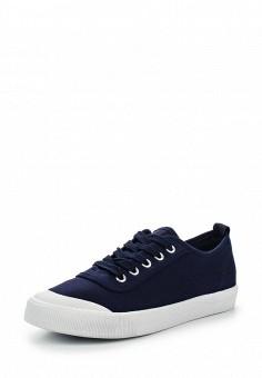 Кеды, Ideal Shoes, цвет: синий. Артикул: ID005AWSBE94. Женская обувь / Кроссовки и кеды