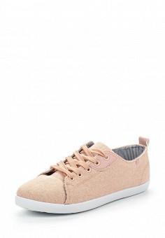 Кеды, Ideal Shoes, цвет: розовый. Артикул: ID005AWSBF33. Женская обувь / Кроссовки и кеды