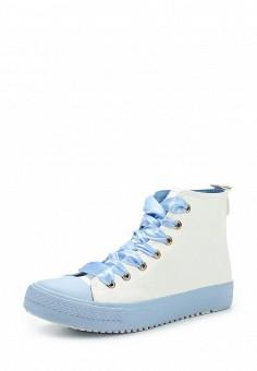 Кеды, Ideal Shoes, цвет: голубой. Артикул: ID007AWWEI63. Женская обувь / Кроссовки и кеды