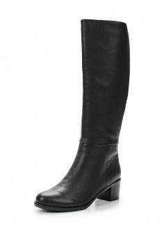 Сапоги, Julia Grossi, цвет: черный. Артикул: JU011AWWGB28. Женская обувь / Сапоги