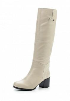 Сапоги, Julia Grossi, цвет: белый. Артикул: JU011AWWGB29. Женская обувь / Сапоги