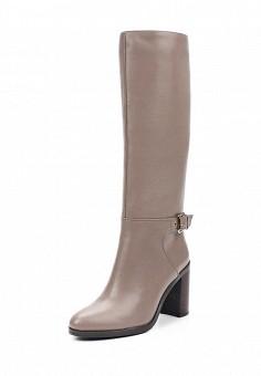 Сапоги, Julia Grossi, цвет: бежевый. Артикул: JU011AWWGB48. Женская обувь / Сапоги / Сапоги