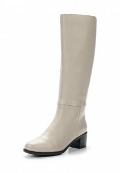 Сапоги, Julia Grossi, цвет: серый. Артикул: JU011AWWGB49. Женская обувь / Сапоги
