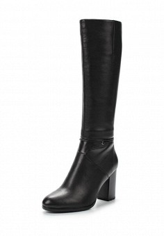 Сапоги, Julia Grossi, цвет: черный. Артикул: JU011AWWGB53. Женская обувь / Сапоги