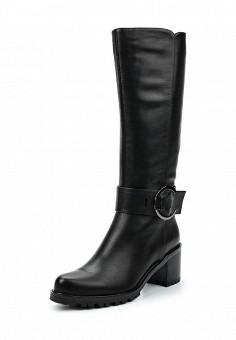 Сапоги, Julia Grossi, цвет: черный. Артикул: JU011AWWGB62. Женская обувь / Сапоги