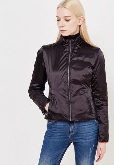 Куртка утепленная, Liu Jo Jeans, цвет: черный. Артикул: LI003EWUDU39. Премиум / Одежда / Верхняя одежда