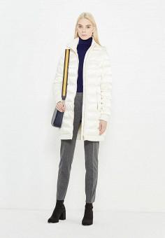 Пуховик, Liu Jo, цвет: белый. Артикул: LI687EWUDM84. Премиум / Одежда / Верхняя одежда / Пуховики и зимние куртки