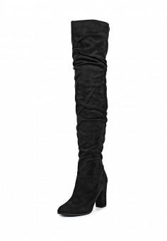 Ботфорты, LOST INK, цвет: черный. Артикул: LO019AWYBP34. Женская обувь / Сапоги
