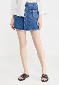 Mango джинсовые юбки