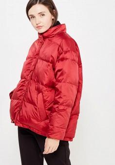 Куртка, Mango, цвет: бордовый. Артикул: MA002EWWFA84. Женская одежда / Верхняя одежда / Пуховики и зимние куртки