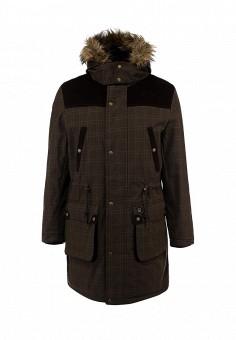Куртка утепленная, Merc, цвет: хаки. Артикул: ME001EMJJ002. Мужская одежда / Верхняя одежда / Парки