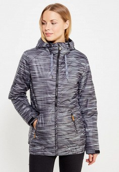 Куртка утепленная, Modis, цвет: серый. Артикул: MO044EWWRK22. Женская одежда / Верхняя одежда / Пуховики и зимние куртки